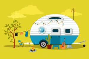 credit camping car