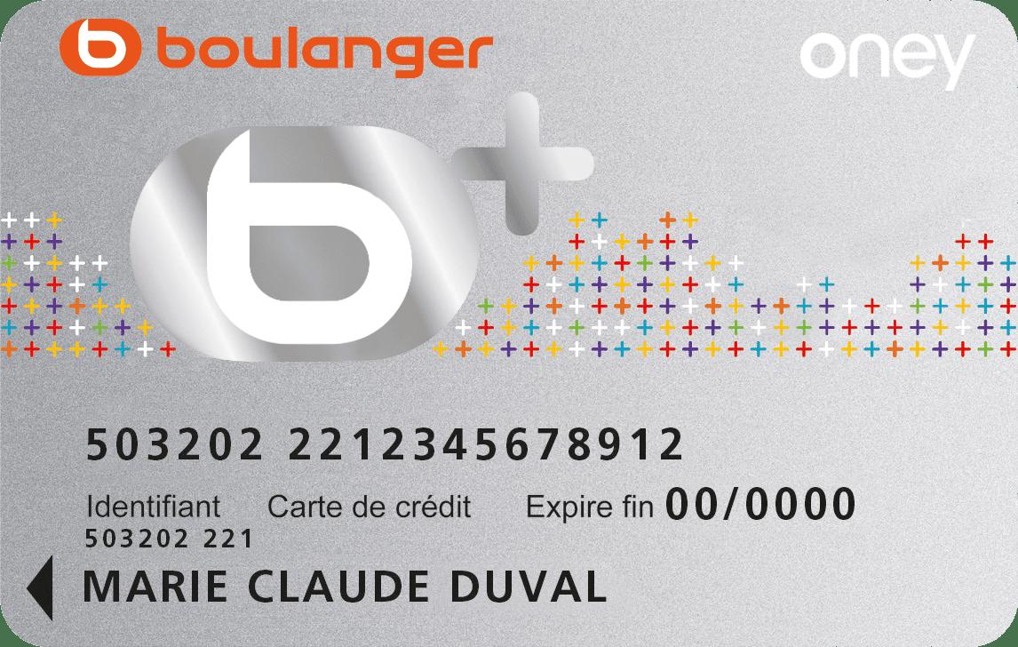 Oney - Carte de financement b+