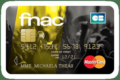 Carte de crédit FNAC